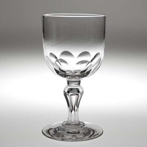A Victorian Glass Goblet c1880