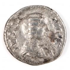 Roman Empire  Julia Domna (Wife of Septimius Severus)  Silver Denarius AD204