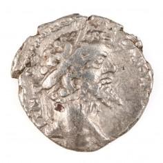 Roman Empire Septimius Severus, Silver Denarius,  Emesa Mint, AD 194/5