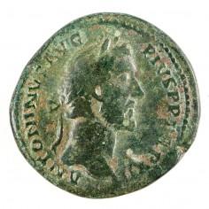 Roman Empire Antoninus Pius, Sestertius, Aequitas AD 148/9