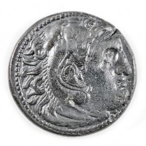 Ancient Greek, Kings of Macedon, Alexander The Great AE18, 336-316 BC