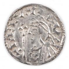 Anglo-Saxon, Cnut, Silver Short Cross Type Penny, Godinc, 1016-35
