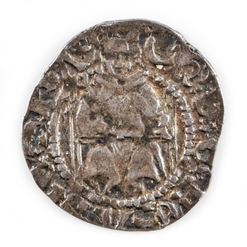 Henry VIII, Silver 'Sovereign Penny' Durham Mint, Wolsey, 1526-9