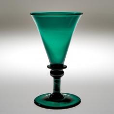 A Green Wine Glass c1820