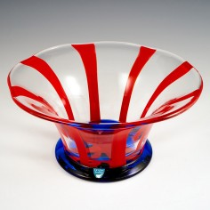 A Orrefors Glass Bowl Designed By Erika Lagerbielke