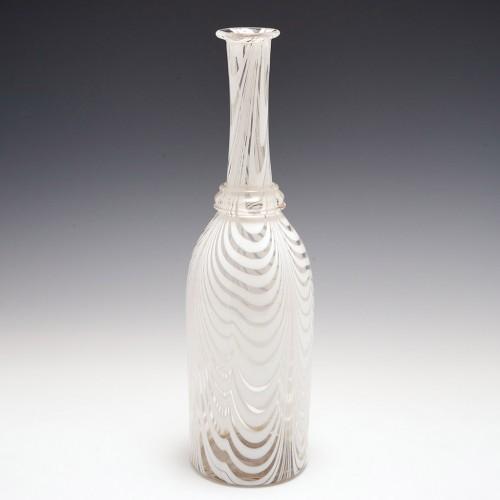19th Century Nailsea Glass Serving Bottle c1860
