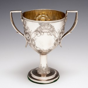Irish Silver Goblet Dublin 1811