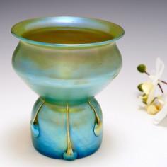 A Loetz Versuvian Vase c1901