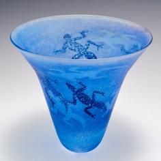 A Siddy Langley Prindi Trumpet Vase 2003