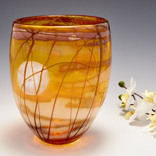 A Sea Moon Vase By Siddy Langley 2021