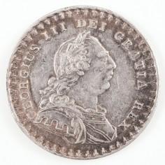 George III Bank of England Emergency Silver Eighteenpence Token , 1812
