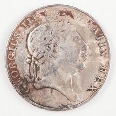 George III Bank of Ireland Emergency Silver Token Ten Pence, 1813