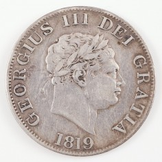 George III Silver Halfcrown, 1819