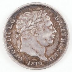George III, Silver Shilling, 1819