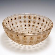Rene Lalique Nemours Bowl Designed 1929 , Marcilhac 404