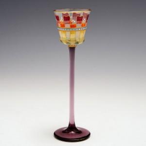 A Meyr's Neffe Liqueur Glass c1900