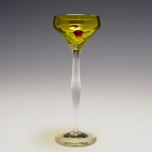 A Theresienthal Liqueur Glass c1905