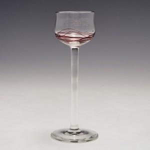 A Poschinger Liqueur Glass c1905