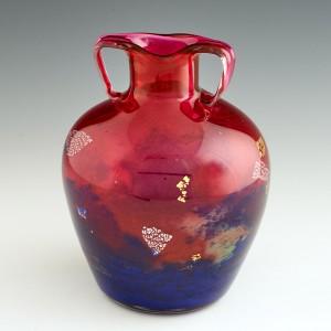 A Muller Freres Amphora Vase c1925