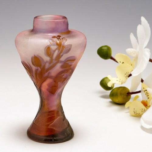 A Miniature Galle Cameo Vase c1910