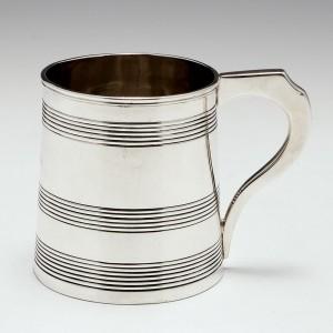 A One Gill Silver Mug London 1804