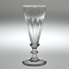 19th Century Moulded Ale Glass c1810