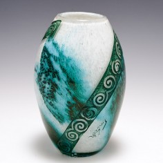 Legras Art Deco Glass Vase c1925