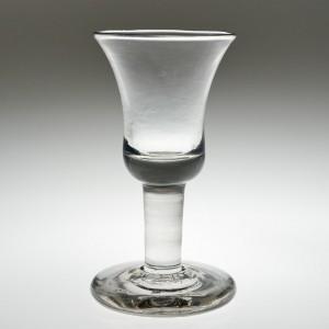 A Fine Georgian Firing Glass c 1740.