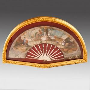 An 18th Century Painted Fan