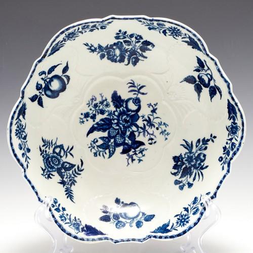 A Rare Caughley Porcelain Salad Bowl 1780-85