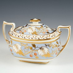 Ridgway Porcelain Sucrier c1825