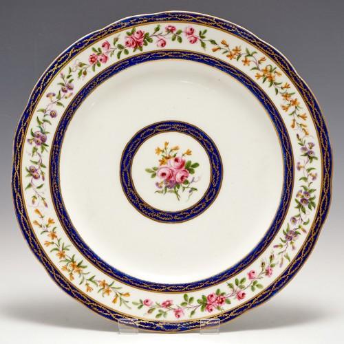A Sevres Porcelain Plate 1793