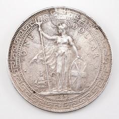 British Oriental Silver Trade Dollar 1899