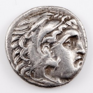 Ancient Greek Macedon, In the Name and Types of Alexander The Great III Silver Drachm, 310-301 BC