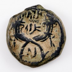 Ancient Petra Nabataean King Aretas IV, Bronze AE, 9 BC - 40 AD