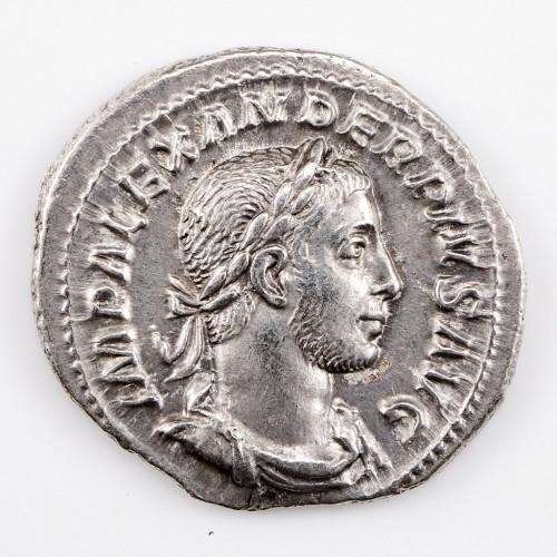 Emperor Severus Alexander Silver Denarius, AD 231-5