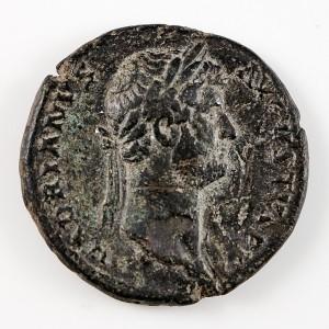Emperor Hadrian Copper As, Salus Reverse, AD 128-129