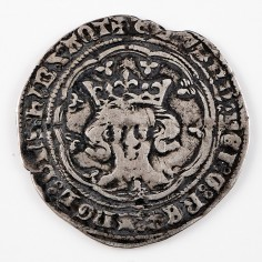 Edward III Silver Groat Treaty Period, 1361-1369