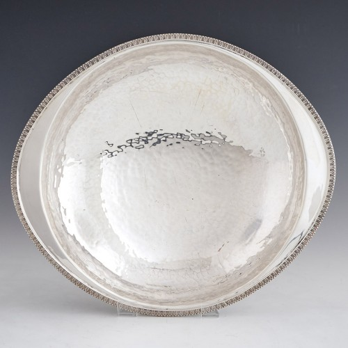 A Hukin And Heath Hammered Sterling Silver Bowl 1931