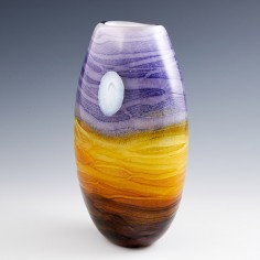 A Harvest Moon Vase by Siddy Langley 2021