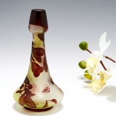 A Miniature Galle Cameo Glass Vase c1920