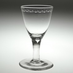An Early 19th Century Wine Glass