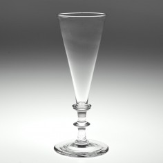 A Georgian Flute Glass c1825