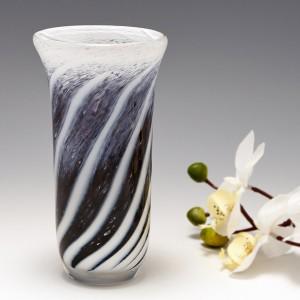 Michael Crane Signed Studio Glass Vase 2003