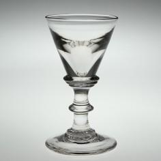 A Georgian Deceptive Dram Glass c1820