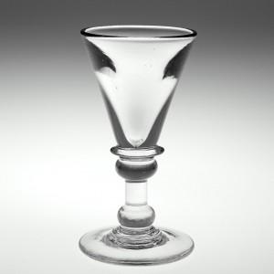 A Deceptive Dram Glass c1820