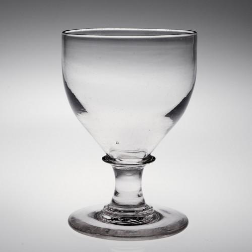 An English Glass Rummer c1825