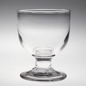 A Heavy Victorian Glass Rummer c1860