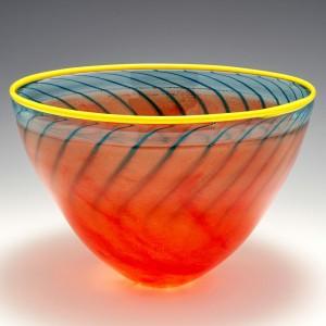 Kjell Engman For Kosta Boda BonBon Vase Designed 1989