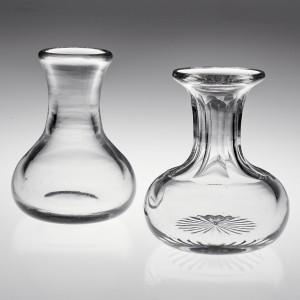 Two Half Gill English Spirit Measures c1870